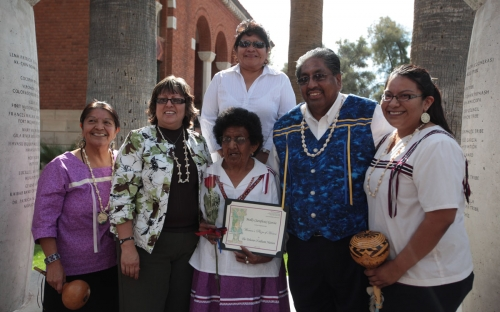 Chairman Norris and other guests from the Tohono O'odham Nation (2)