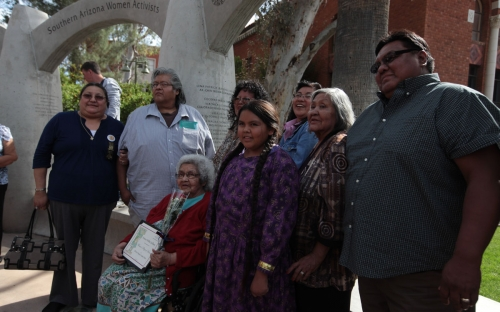 Family of Fort Mojave honoree Francis Stillman