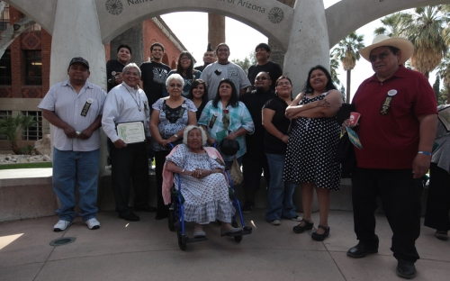 Guests from the Salt River Pima-Maricopa Indian Community (2)