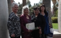 Colorado River Indian Tribes honoree Veronica Lee Homer with friends