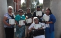 Honorees and family members from Salt River Pima-Maricopa Indian Community