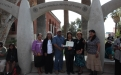 Hualapai honoree Lucille Watahomigie with family and friends