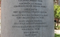 Names engraved on the Native American Women's Arch column one